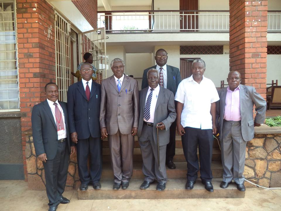 Group photo with the Chairman AHPC Third from the right at the Clinical Officers Nomination_CPD meeting